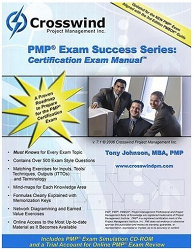 PMP Exam Success Series : Certification Exam Manual N/A 9780976866053 Front Cover