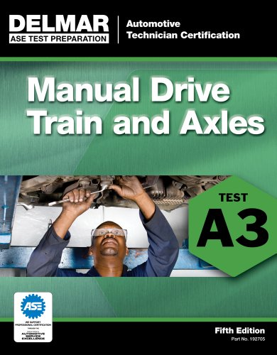 Manual Drive Train and Axles Test A3 5th 2012 edition cover