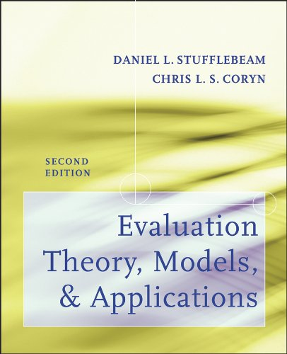 Evaluation Theory, Models, and Applications  2nd 2014 edition cover