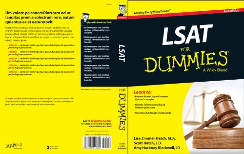 LSAT for Dummies  2nd 2014 edition cover
