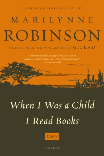 When I Was a Child I Read Books Essays N/A edition cover