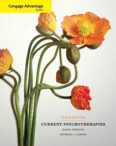 Cengage Advantage Books: Current Psychotherapies  10th 2014 edition cover