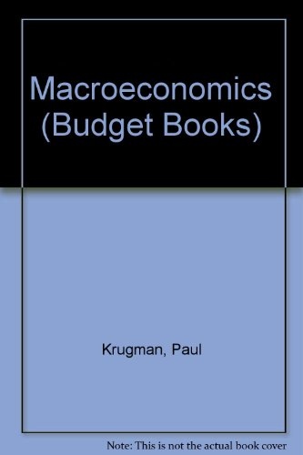 Macroeconomics  3rd 2013 edition cover