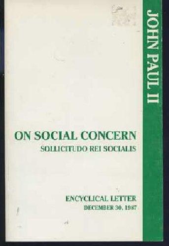 On Social Concern Sollicitudo Rei Socialis N/A edition cover
