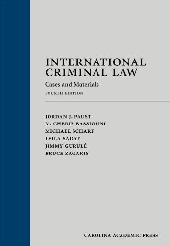 International Criminal Law Cases and Materials 4th edition cover
