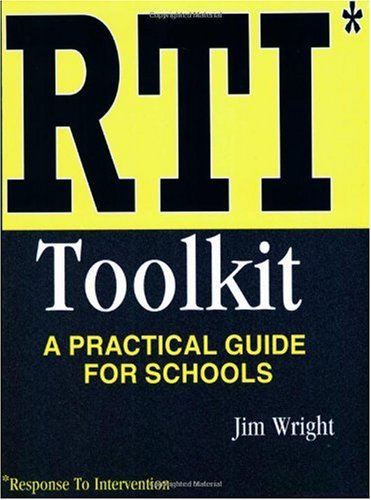 RTI Toolkit : A Practical Guide for Schools N/A edition cover