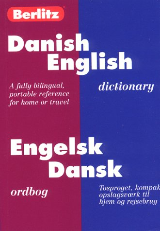 Danish/English Dictionary 2nd 1994 (Revised) 9782831563053 Front Cover