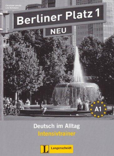 BERLINER PLATZ 1 INTENSIVTRAIN N/A edition cover