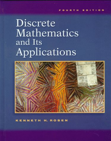Discrete Mathematics and Its Applications 4th 1999 edition cover