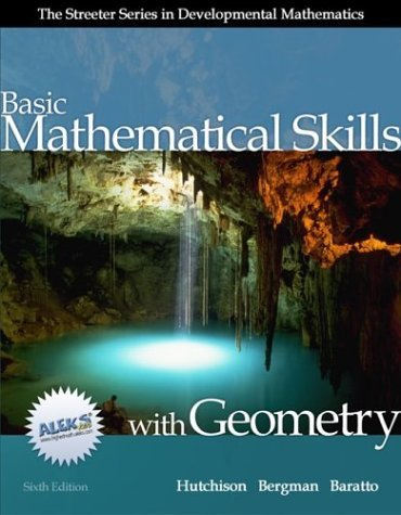 Basic Mathematical Skills with Geometry with MathZone  6th 2005 (Revised) edition cover