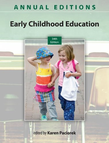 Early Childhood Education 13/14: 34th 2013 edition cover