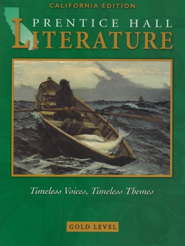Prentice Hall Literature Timeless Voices, Timeless Themes : Gold Level  2002 9780130548054 Front Cover