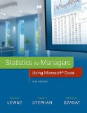 Statistics for Managers Using Microsoft Excel:   2016 9780134173054 Front Cover