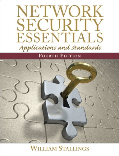 Network Security Essentials Applications and Standards 4th 2011 edition cover