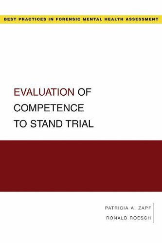 Evaluation of Competence to Stand Trial   2008 edition cover