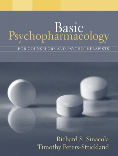 Basic Psychopharmacology for Counselors and Psychotherapists   2006 edition cover