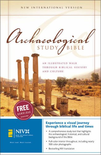 Archaeological Study Bible   2006 (Student Manual, Study Guide, etc.) edition cover