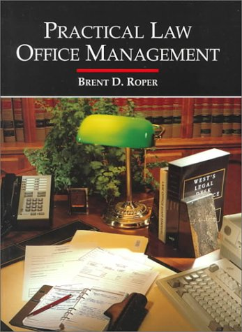 Practical Law Office Management  N/A 9780314043054 Front Cover