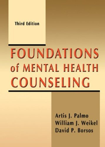 Foundations of Mental Health Counseling  3rd 2005 edition cover
