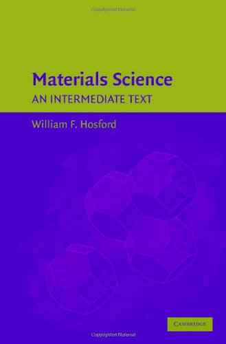 Materials Science An Intermediate Text  2006 9780521867054 Front Cover