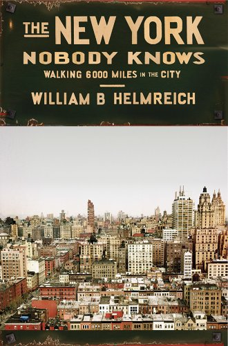 New York Nobody Knows Walking 6,000 Miles in the City  2014 edition cover
