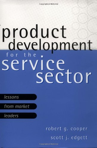 Product Development for the Service Sector Lessons from Market Leaders  1999 9780738201054 Front Cover