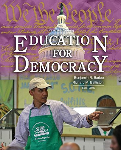Education for Democracy A Sourcebook for Students and Teachers Revised  edition cover