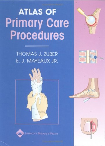 Atlas of Primary Care Procedures   2003 edition cover