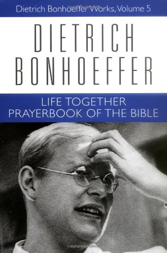 Life Together and Prayerbook of the Bible   1998 (Supplement) edition cover