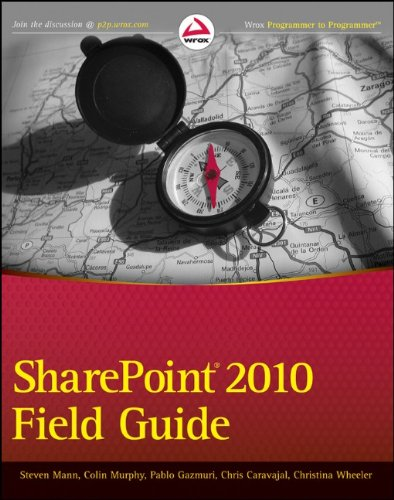 SharePoint 2010 Field Guide   2012 9781118105054 Front Cover