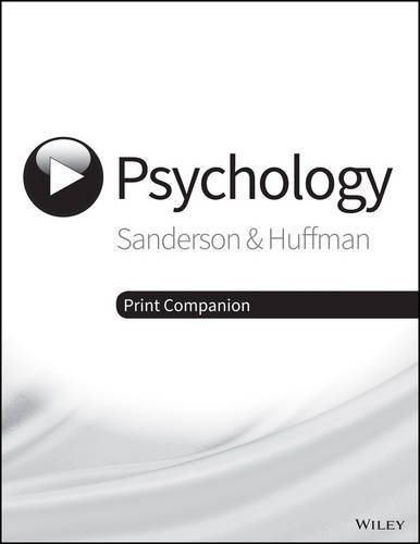 Visualizing Psychology:   2015 9781118978054 Front Cover