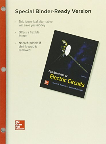Fundamentals of Electric Circuits:   2016 9781259657054 Front Cover