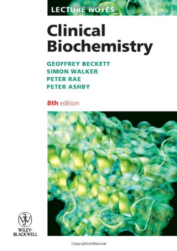 Clinical Biochemistry  8th 2010 9781405193054 Front Cover