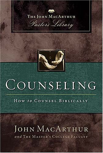 Counseling How to Counsel Biblically  2005 edition cover