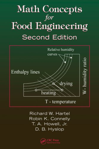 Math Concepts for Food Engineering  2nd 2008 (Revised) edition cover