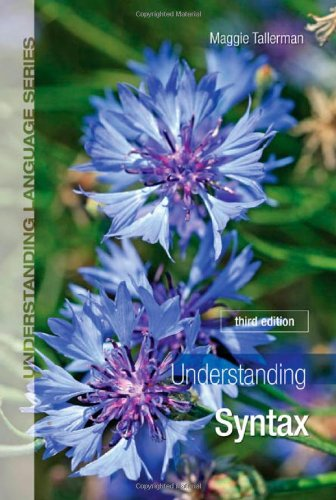 Understanding Syntax  3rd 2011 (Revised) edition cover