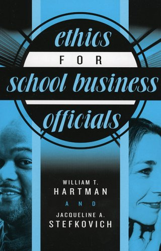 Ethics for School Business Officials   2005 edition cover