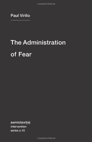 Administration of Fear   2012 edition cover