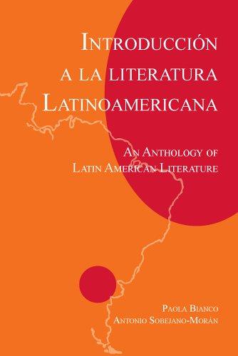 Introduccion a la Literatura Latinoamericana An Anthology of Latin American Literature N/A edition cover