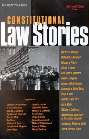 Constitutional Law Stories   2004 edition cover