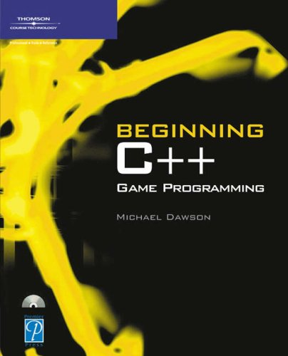 Beginning C++ Game Programming   2004 edition cover