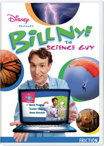 Bill Nye the Science Guy: Friction Classroom Edition [Interactive DVD] System.Collections.Generic.List`1[System.String] artwork