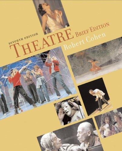 Theatre : Brief Version 7th 2006 edition cover
