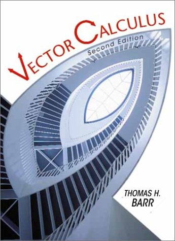 Vector Calculus  2nd 2001 (Revised) edition cover