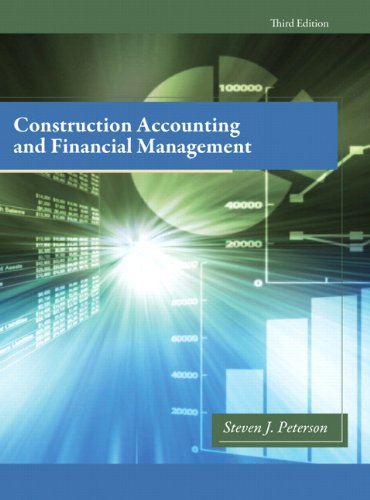 Construction Accounting and Financial Management  3rd 2013 (Revised) edition cover
