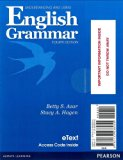 Understanding and Using English Grammar  4th 2013 9780133438055 Front Cover