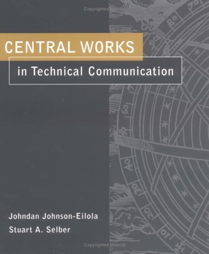 Central Works in Technical Communication   2004 edition cover