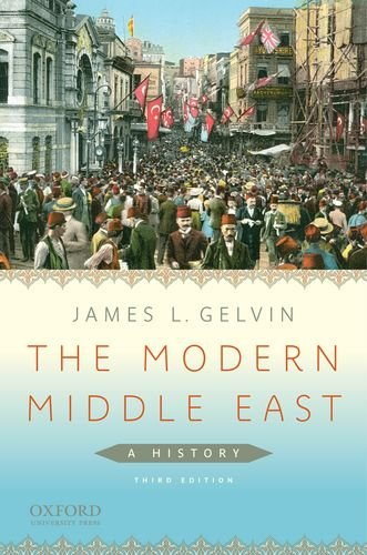 Modern Middle East A History 3rd 2011 edition cover