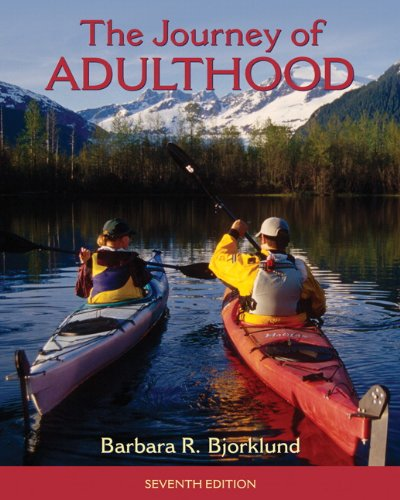 Journey of Adulthood  7th 2011 edition cover