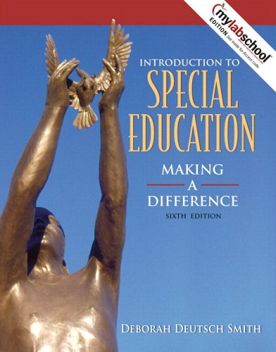 Introduction to Special Education Making a Difference 6th 2007 (Revised) edition cover